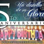Hoy Cumplimos 5 Años de Vida - ¡Gloria a Dios!