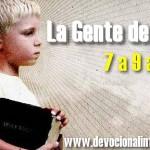 """Clases para niños de 7 a 9 años – Serie: """"La Gente de Dios"""""""