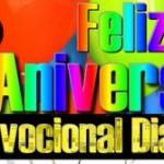 Hoy Cumple 3 Años Devocional Diario y queremos felicitarlos