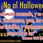 No al Halloween - Letreros