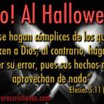 No al Halloween – Letreros
