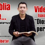 Video: La Biblia dice... Isaías 43:25 NTV