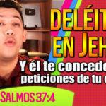 Deléitate en Dios